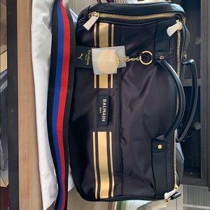 Balmain x Puma Cara Delevingne barrel bag